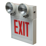 Chicago approved exit-combo sign